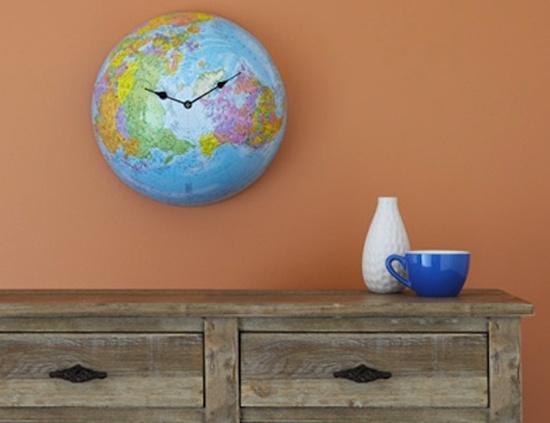 Mẹo trang trí nhà bằng những chiếc đồng hồ treo tường độc đáo 2