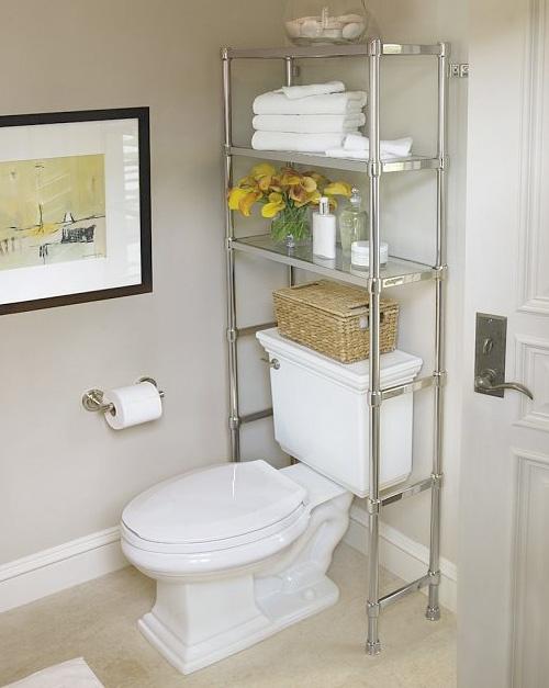 5 giải pháp lưu trữ thông minh cho nhà tắm nhỏ 4