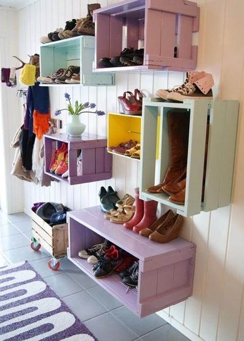 Nhà gọn gàng hơn với 7 cách lưu trữ giày dép cực hay 3