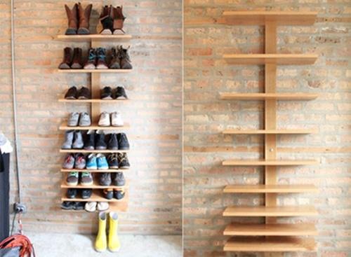 Nhà gọn gàng hơn với 7 cách lưu trữ giày dép cực hay 6