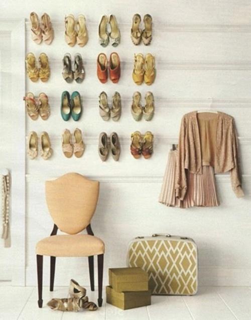 Nhà gọn gàng hơn với 7 cách lưu trữ giày dép cực hay 2
