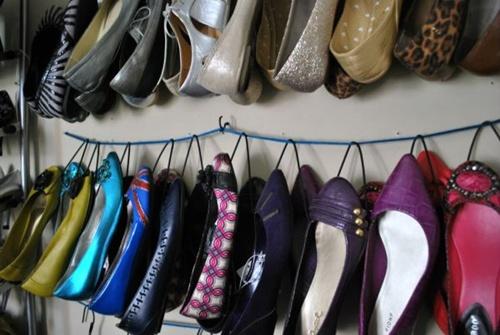 Nhà gọn gàng hơn với 7 cách lưu trữ giày dép cực hay 8