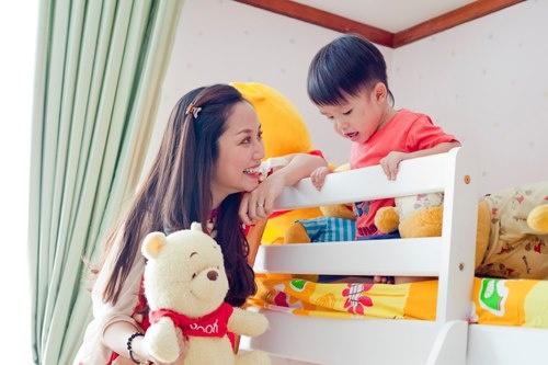 Đột nhập phòng ngủ của các nhóc tì nhà sao Việt 5