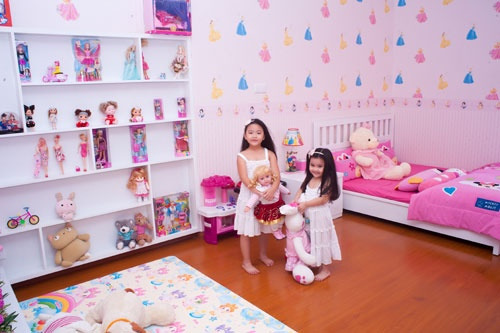 Đột nhập phòng ngủ của các nhóc tì nhà sao Việt 2