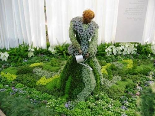 Gợi ý trang trí vườn xinh bằng cây cảnh nghệ thuật 12