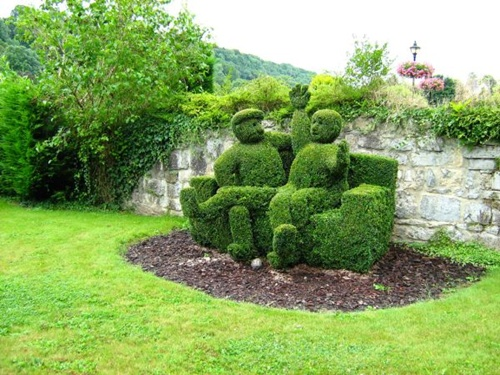 Gợi ý trang trí vườn xinh bằng cây cảnh nghệ thuật 13