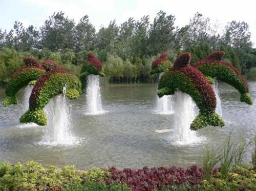 Gợi ý trang trí vườn xinh bằng cây cảnh nghệ thuật 15
