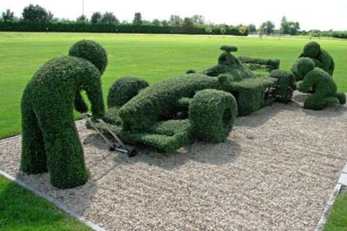 Gợi ý trang trí vườn xinh bằng cây cảnh nghệ thuật 17