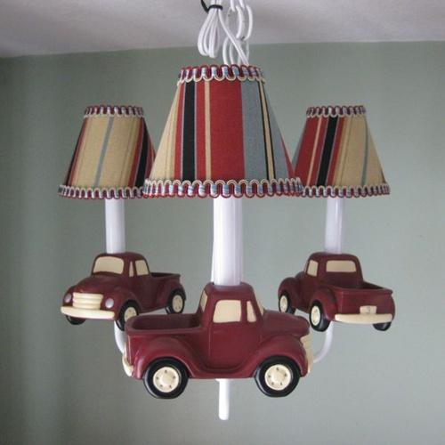 7 mẫu đèn chùm độc đáo và ngộ nghĩnh để trang trí phòng cho bé yêu 6
