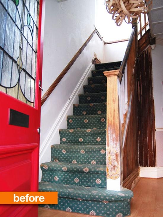 Thay đổi diện mạo cho cầu thang cũ kĩ nhà bạn  1