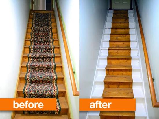 Thay đổi diện mạo cho cầu thang cũ kĩ nhà bạn  5