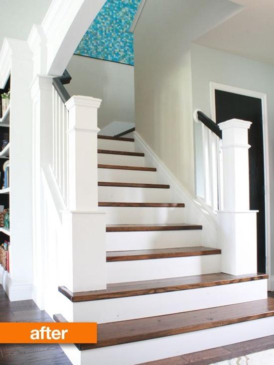 Thay đổi diện mạo cho cầu thang cũ kĩ nhà bạn  4