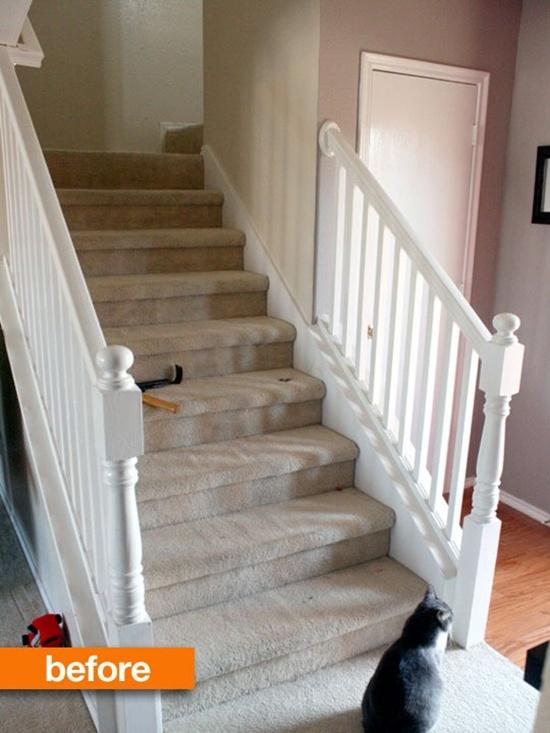 Thay đổi diện mạo cho cầu thang cũ kĩ nhà bạn  3