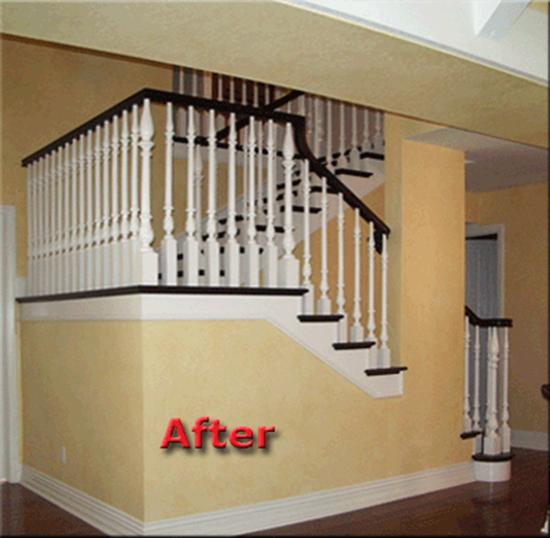 Thay đổi diện mạo cho cầu thang cũ kĩ nhà bạn  7