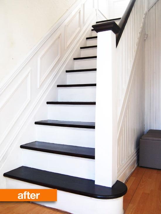 Thay đổi diện mạo cho cầu thang cũ kĩ nhà bạn  2