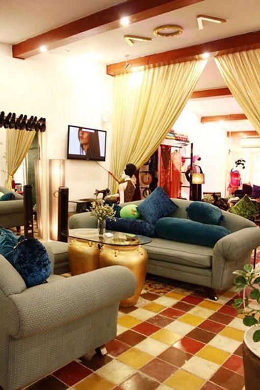 Không gian sống siêu đẹp của hai nhà thiết kế thời trang Việt nổi tiếng 3