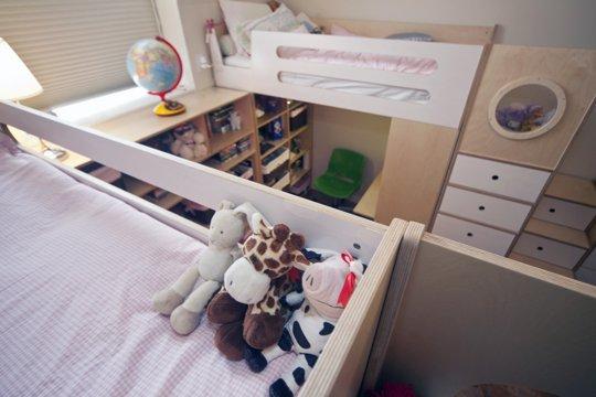 Không gian ao ước cho hai bé nhờ hệ giường đa năng 4