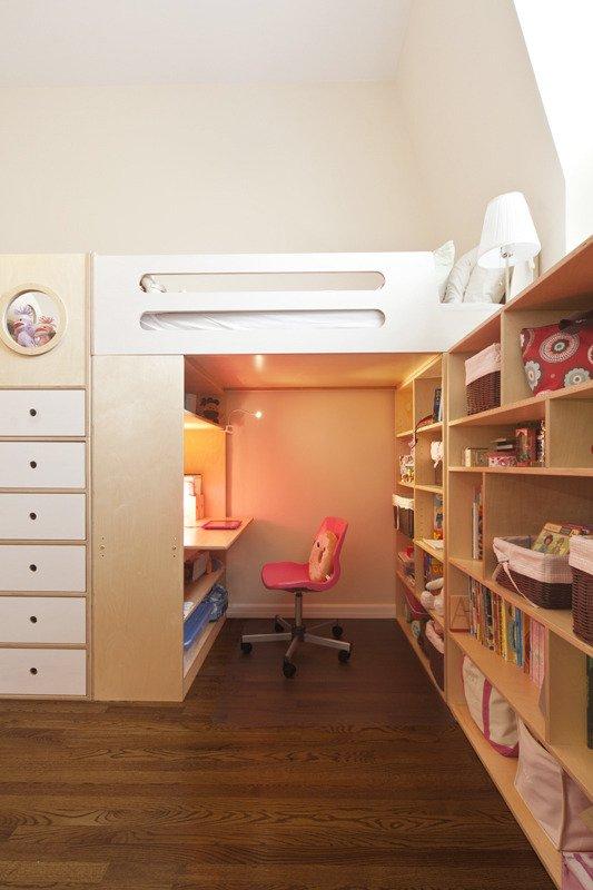 Không gian ao ước cho hai bé nhờ hệ giường đa năng 9