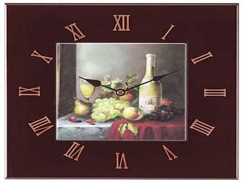 Tạo điểm nhấn cho phòng bếp bằng đồng hồ treo tường ấn tượng 1