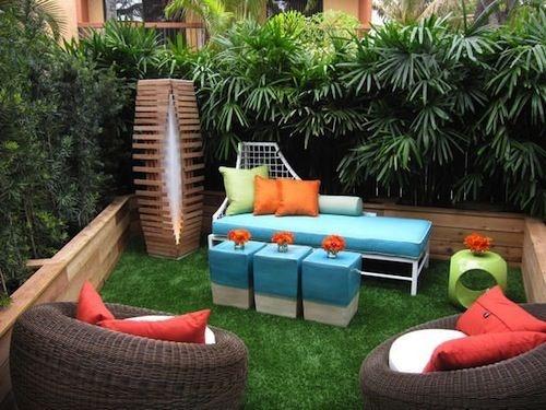 4 cách hay để sân vườn vừa mát vừa riêng tư 7