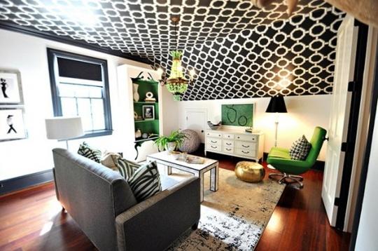 5 cách trang trí nhà bằng giấy dán tường cực sáng tạo 6
