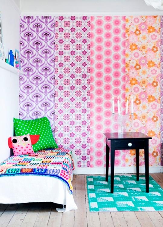 5 cách trang trí nhà bằng giấy dán tường cực sáng tạo 10