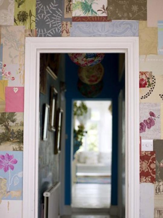 5 cách trang trí nhà bằng giấy dán tường cực sáng tạo 11