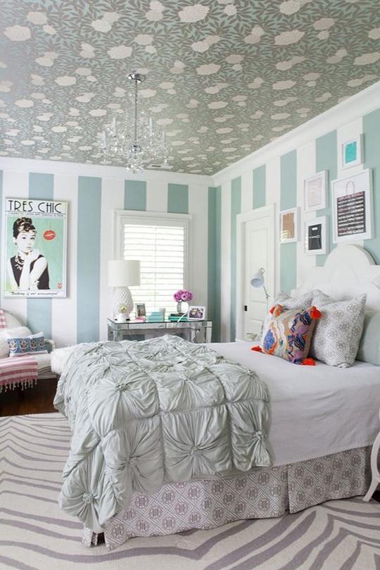 5 cách trang trí nhà bằng giấy dán tường cực sáng tạo 5
