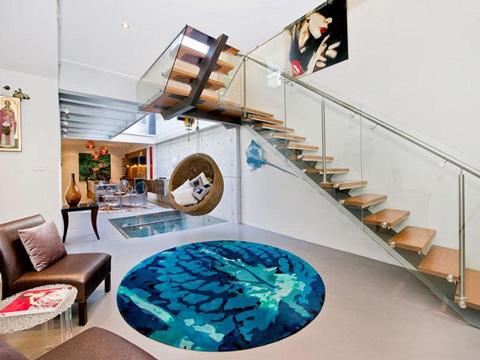 Độc đáo: Ngôi nhà có bể bơi... trong phòng khách 4