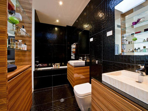 Độc đáo: Ngôi nhà có bể bơi... trong phòng khách 9