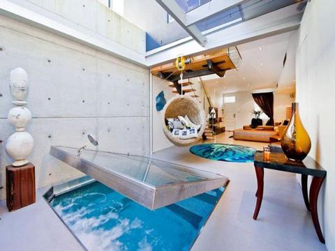 Độc đáo: Ngôi nhà có bể bơi... trong phòng khách 3