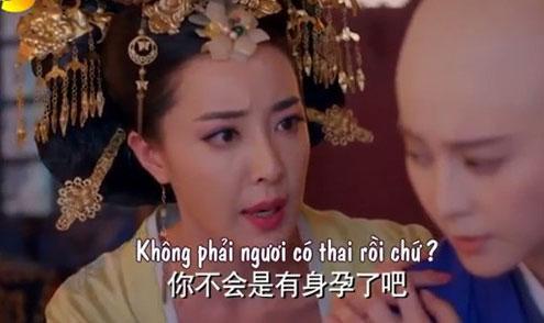 """Chấn động về sự thật cái thai của Mỵ Nương trong """"Võ Tắc Thiên""""  1"""