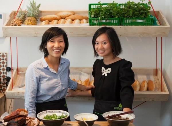 Vân Trần - Cô gái bỏ việc để đi bán bánh mì Việt nổi tiếng khắp London 1