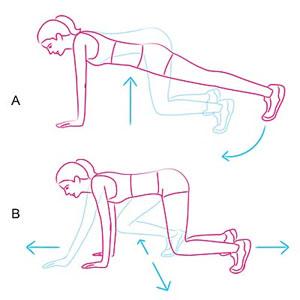 Bài tập giúp tăng cường sự trao đổi chất để giảm cân nhanh chóng 3