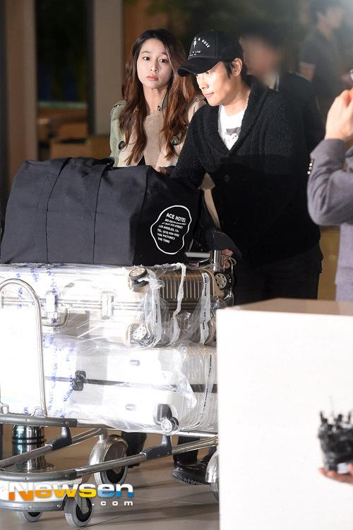 Lee Min Jung lần đầu lộ diện sau scandal của Lee Byung Hun 1