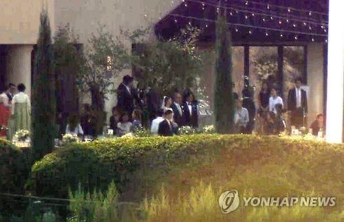 Hình ảnh đám cưới của Bae Yong Joon và Park Soo Jin 1