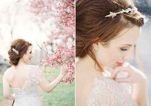 4 phụ kiện cài tóc tinh tế tô điểm yêu kiều cho cô dâu mới 1