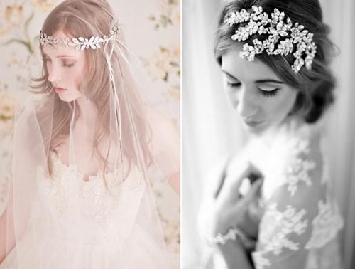4 phụ kiện cài tóc tinh tế tô điểm yêu kiều cho cô dâu mới 3