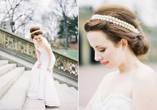 4 phụ kiện cài tóc tinh tế tô điểm yêu kiều cho cô dâu mới 4