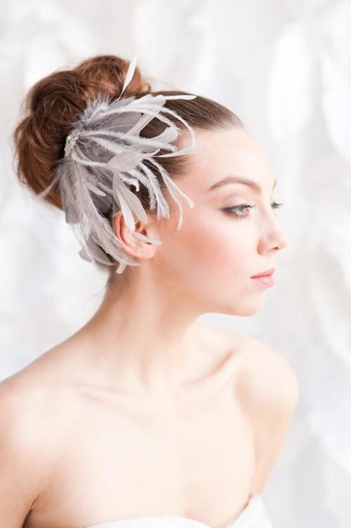 4 phụ kiện cài tóc tinh tế tô điểm yêu kiều cho cô dâu mới 12