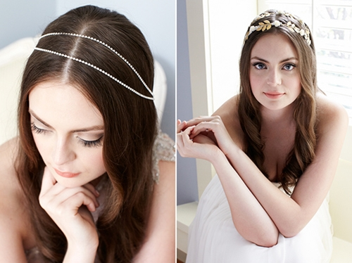 4 phụ kiện cài tóc tinh tế tô điểm yêu kiều cho cô dâu mới 15