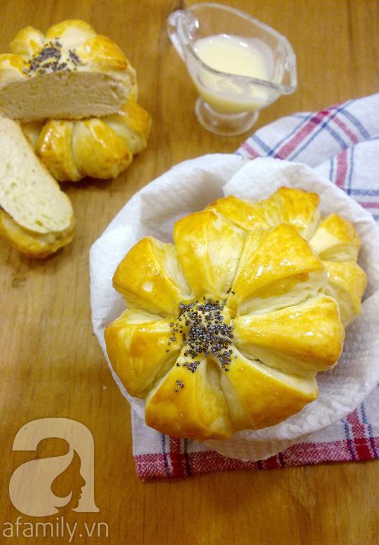 Làm bánh mỳ mềm ngon cho bữa sáng 9