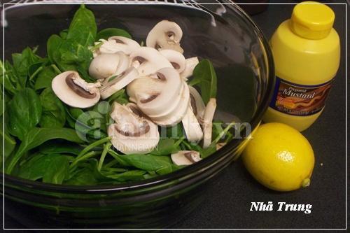 Giảm cân với salad rau chân vịt 2