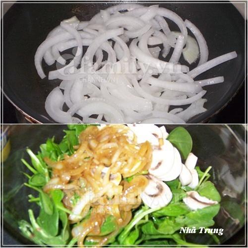Giảm cân với salad rau chân vịt 3