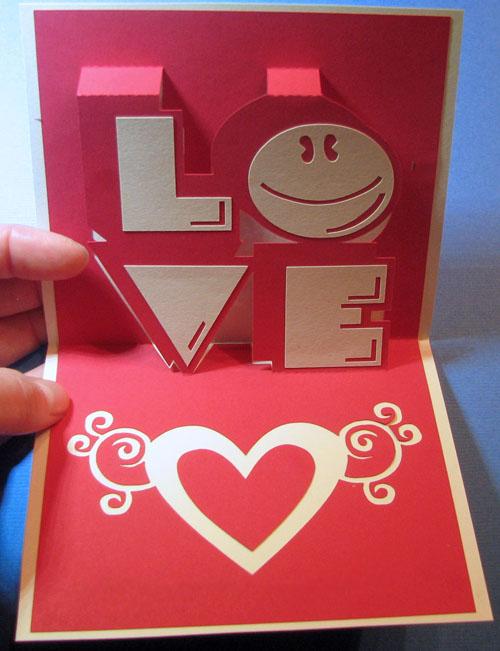Làm thiệp nổi siêu đáng yêu cho mùa Valentine 12