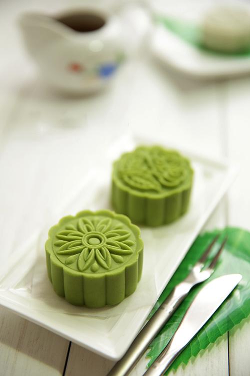 Bánh dẻo tuyết trà xanh thanh ngon hoàn hảo cho Trung thu 1