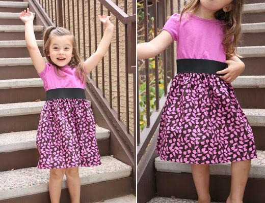 Biến áo cũ thành váy xinh cho bé yêu xúng xính 16