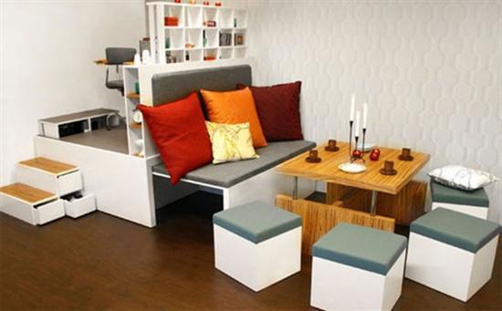 Bố trí nội thất thông minh cho không gian nhỏ hẹp 1