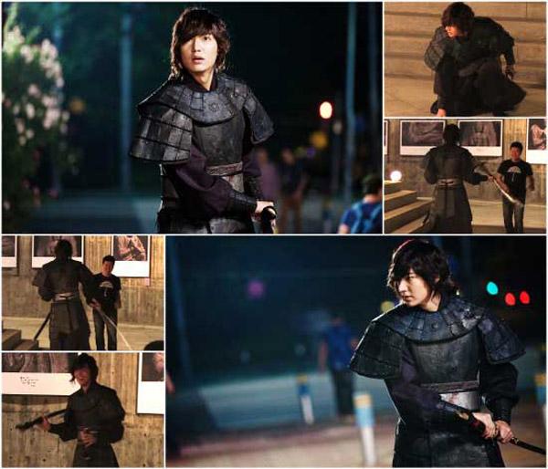 Những diễn viên Hàn không cần người đóng thế 2