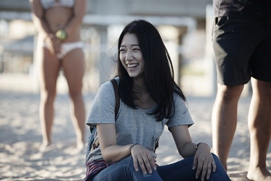 """Lee Min Ho, Park Shin Hye cười tít mắt trên phim trường """"The Heirs"""" 5"""